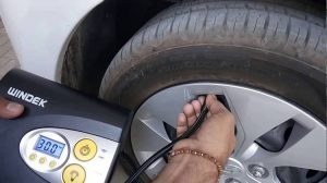 Tyre Inflator at Home