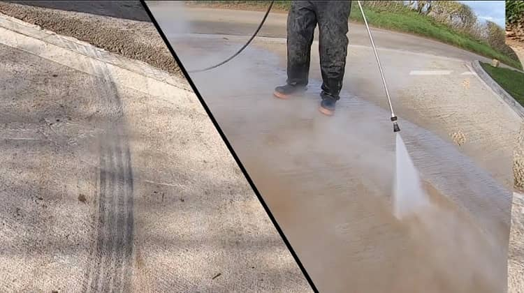 How to Get Rid of Tire Marks on Concrete
